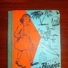 Libros de segunda mano: VILLERGAS, JOSÉ Mª. FIGURAS Y PAISAJES : SEGUNDO LIBRO DE LECTURA. Lote 110710839