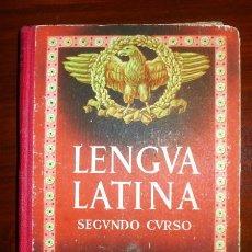 Libros de segunda mano: EDELVIVES. LENGUA LATINA. SEGUNDO CURSO. Lote 110710907