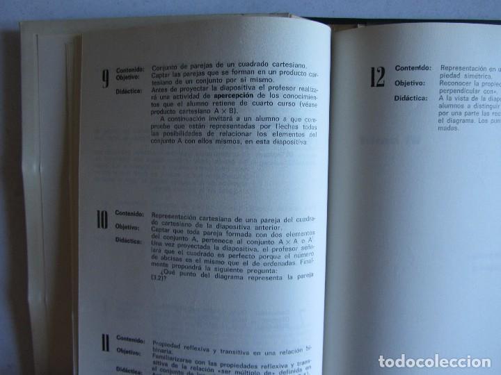 Libros de segunda mano: Matématicas Grado 6º E.G.B. CARPETA CON CURSO + 192 diapositivas HIARES EDITORIAL 1975 - Foto 3 - 110905235