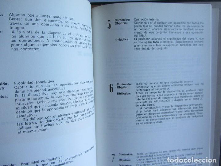 Libros de segunda mano: Matématicas Grado 6º E.G.B. CARPETA CON CURSO + 192 diapositivas HIARES EDITORIAL 1975 - Foto 4 - 110905235