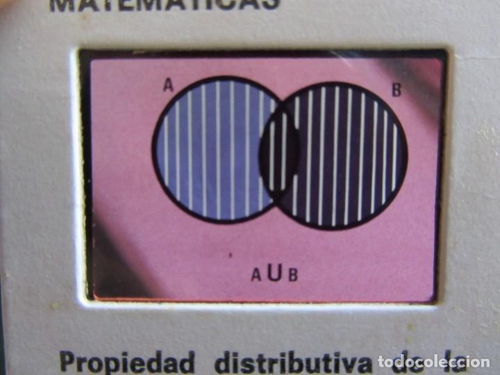 Libros de segunda mano: Matématicas Grado 6º E.G.B. CARPETA CON CURSO + 192 diapositivas HIARES EDITORIAL 1975 - Foto 5 - 110905235