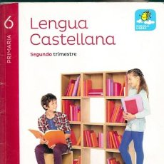 Libros de segunda mano: LENGUA CASTELLANA 6 PRIMARIA 2 TRIMESTRE / PROYECTO SABER HACER - SANTILLANA | ISBN 9788468031712. Lote 111540127