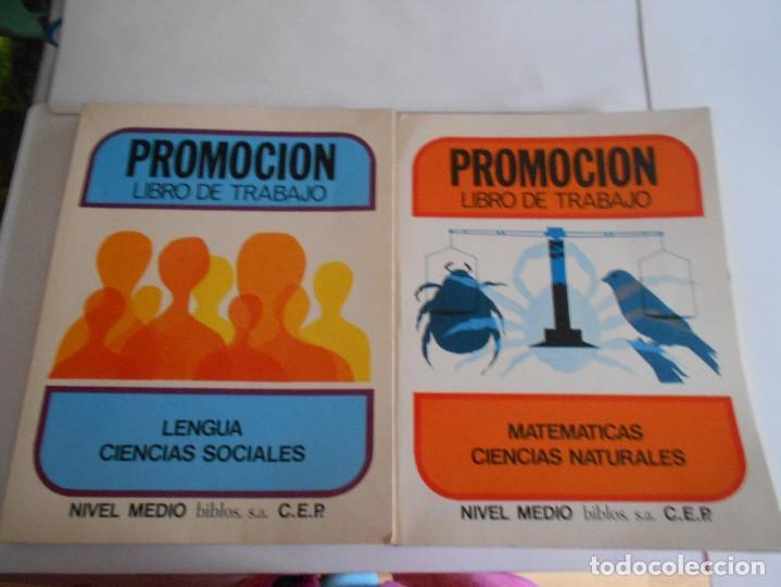 LENGUA CIENCIAS SOCIALES Y MATEMATICAS CIENCIAS NATURALES-2 LIBROS,PROMOCION LIBRO DE TRABAJO (Libros de Segunda Mano - Libros de Texto )