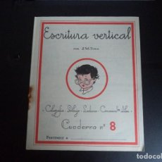 Libros de segunda mano: CUADERNO DE ESCUELA J.M.TORAL. Lote 111607487