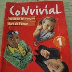 Libros de segunda mano: LIBRO DE FRANCES CONVIVAL 1. Lote 111621843
