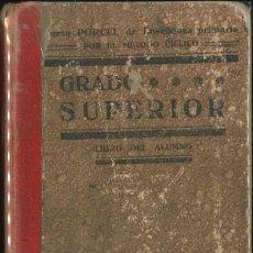 Libros de segunda mano: LIBRO DEL ALUMNO GRADO SUPERIOR. Lote 111867367