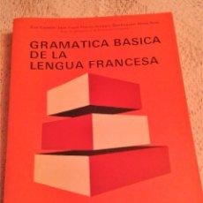 Libros de segunda mano: GRAMÁTICA BÁSICA DE LA LENGUA FRANCESA HACHETTE 1981. Lote 112032603