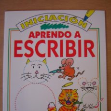Libros de segunda mano: INICIACIÓN - APRENDO A ESCRIBIR (SUSAETA). Lote 112047187