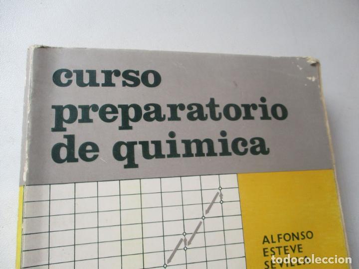 Libros de segunda mano: CURSO PREPARATORIO DE QUÍMICA , ALFONSO ESTEVE SEVILLA-1965-ECIR.- VALENCIA - Foto 3 - 112244743