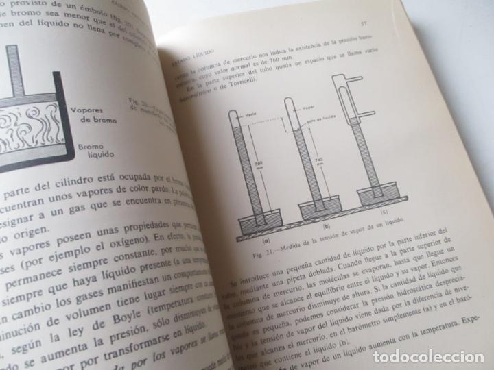 Libros de segunda mano: CURSO PREPARATORIO DE QUÍMICA , ALFONSO ESTEVE SEVILLA-1965-ECIR.- VALENCIA - Foto 5 - 112244743