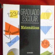 Second hand books - MATEMÁTICAS. GRADUADO ESCOLAR. CEAC - 112610943