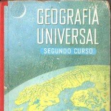 Libros de segunda mano: GEOGRAFÍA UNIVERSAL EDELVIVES 1960 - SEGUNDO CURSO. Lote 112706843