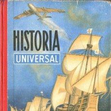 Libros de segunda mano: HISTORIA UNIVERSAL EDELVIVES 1964 - CUARTO CURSO. Lote 112706979