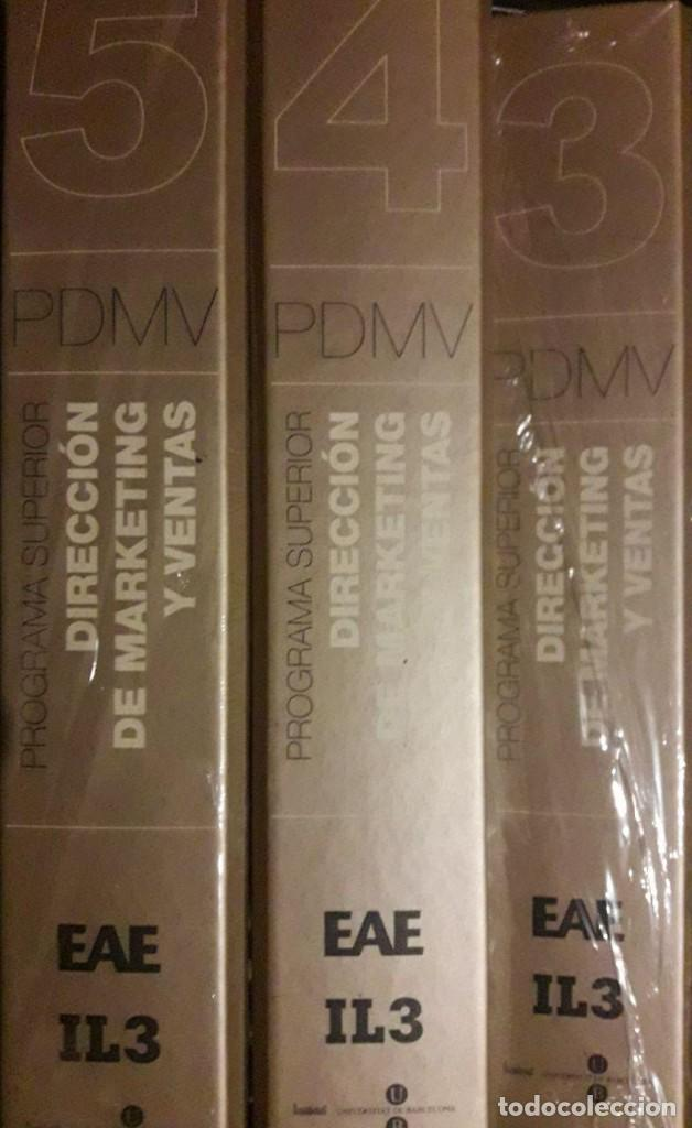 Libros de segunda mano: DIRECCIÓN DE MARKETING Y DE VENTAS / PROGRAMA SUPERIOR / 5 CARPETAS / ESCUELA ADMINISTRACIÓN DE EMPR - Foto 3 - 112916079