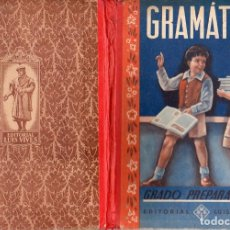 Libros de segunda mano: GRAMÁTICA GRADO PREPARATORIO (EDELVIVES, 1958). Lote 113005131
