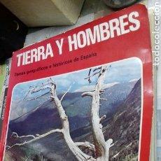 Libros de segunda mano: TIERRA Y HOMBRES.TEIDE.1973. Lote 113155094