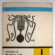 Libri di seconda mano: LIBRO DE TEXTO - INICIACIÓN AL DIBUJO ARTÍSTICO 1º CURSO - TOMÁS HERNÁNDEZ SANTURTÚN 1962. Lote 113206095