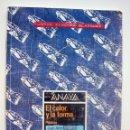 Libros de segunda mano: LIBRO DE TEXTO - PLÁSTICA 8º EGB ANAYA - EL COLOR Y LA FORMA - JUAN AMO VÁZQUEZ. 1994.. Lote 113334279