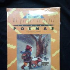 Libros de segunda mano: LIBRO EL PARQUE DE PAPEL POEMAS. Lote 113587052