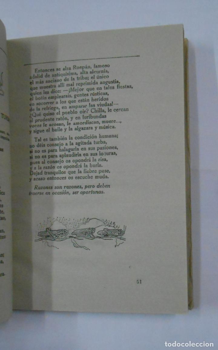 Libros de segunda mano: FABULAS EDUCATIVAS. EZEQUIEL SOLANA. EDITORIAL ESCUELA ESPAÑOLA. TDKLT - Foto 2 - 113598527