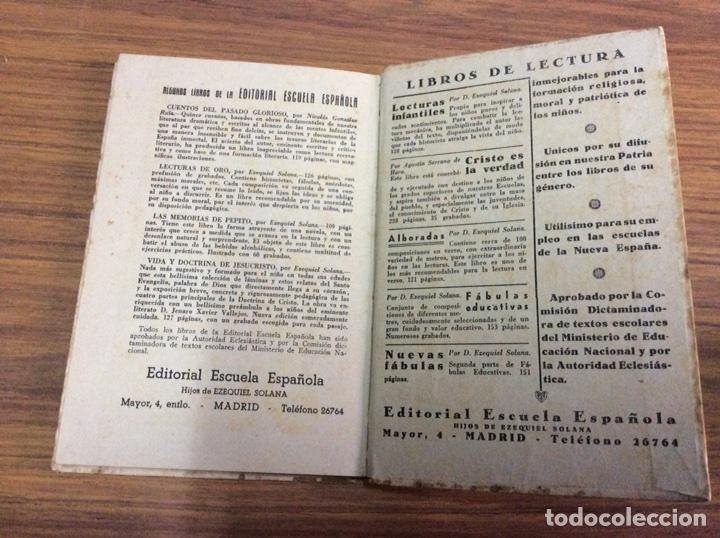 Libros de segunda mano: LECCIONES DE COSAS-EZEQUIEL SOLANA-EDITORIAL ESCUELA ESPAÑOLA.AÑO 1941. - Foto 5 - 113809287