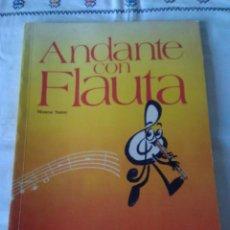 Libros de segunda mano: 85-ANDANTE CON FLAUTA, MONTSE SANUY, EDELVIVES 1992. Lote 114123119