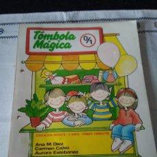 Libros de segunda mano: 118-TOMBOLA MAGICA 0/1, EDUCACION INFANTIL, 1º TRIMESTRE, EVEREST, 1990. Lote 114267147