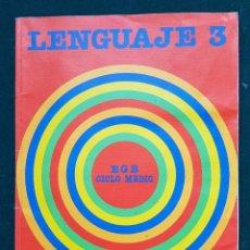 Libros de segunda mano: LENGUAJE 3 - EGB CICLO MEDIO - SANTILLANA. Lote 114925819