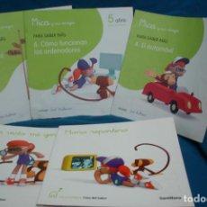 Libros de segunda mano: MI PRIMERA CASA DEL SABER Y MICA Y SUS AMIGOS - 5 UNIDADES. Lote 115741339