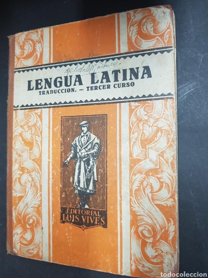 LENGUA LATINA - TERCER CURSO - EDITORIAL LUIS VIVES - TDK143 (Libros de Segunda Mano - Libros de Texto )