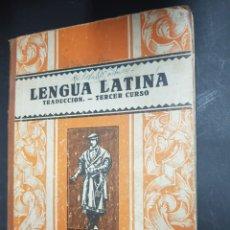 Libros de segunda mano: LENGUA LATINA - TERCER CURSO - EDITORIAL LUIS VIVES - TDK143. Lote 115885483
