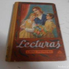 Libros de segunda mano: ANTIGUO LIBRO DE TEXTO - LECTURAS. LIBRO PRIMERO - ED. LUIS VIVES - EDELVIVES, AÑO 1948. Lote 116127983