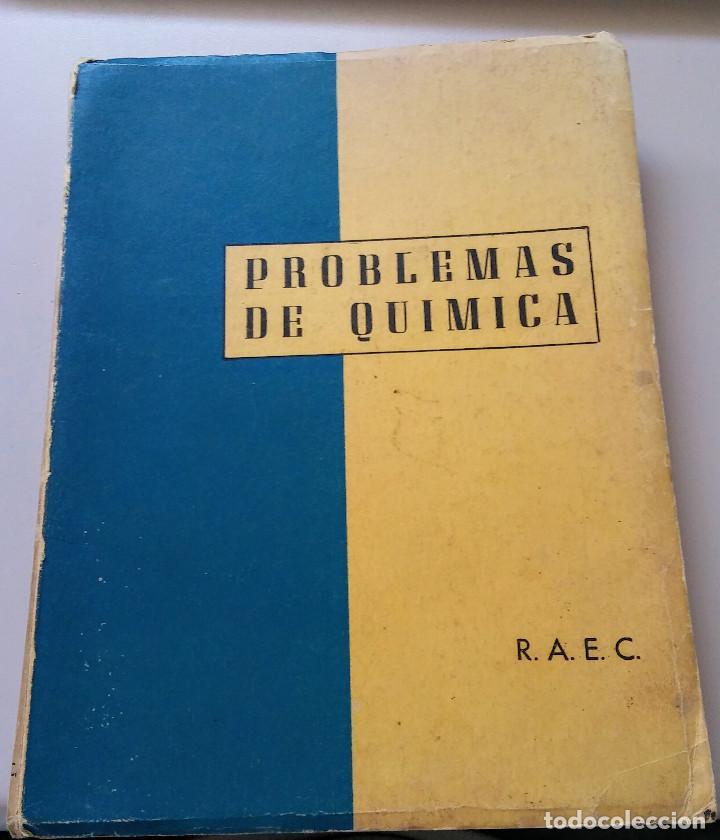 PROBLEMAS E QUIMICA (Libros de Segunda Mano - Libros de Texto )