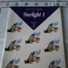 Libros de segunda mano: 111-STARLIGHT 1, PRACTICE BOOK, 3º PRIMARIA, SANTILLANA, 1996. Lote 116215439