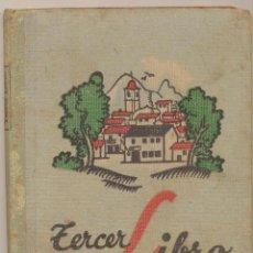 Libros de segunda mano: TERCER LIBRO. JOAQUÍN PLA CARGOL. DALMAU CARLÉS 1936. DIFICIL.. Lote 191759823