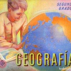 Libros de segunda mano: EDELVIVES : GEOGRAFIA SEGUNDO GRADO (1966) . Lote 116444739
