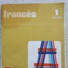 Libros de segunda mano: FRANCÉS 1 BACHILLERATO EDUCACIÓN SANTILLANA 1975. Lote 116535435