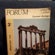 Gebrauchte Bücher - Lengua latina tercer curso editorial Vicens Vives forum 1969 - 116782438