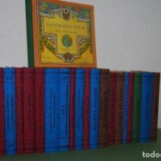 Libros de segunda mano: COLECCIÓN DE LIBROS LA ESCUELA DE ENTONCES - 22 TOMOS - RBA. Lote 116904851