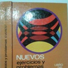 Libros de segunda mano: NUEVOS EJERCICIOS Y PROBLEMAS LIBRO DEL MAESTRO 1º A 8º E.G.B. 1974 SABUGO Y OTROS 2ª ED. EVEREST. Lote 117415927