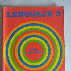 Libros de segunda mano: LIBRO EGB /LENGUAJE SANTILLANA 3º CURSO.. Lote 117539855