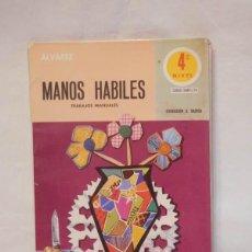 Livres d'occasion: LIBRO DE TEXTO 4º EGB MANOS HABILES. TRABAJOS MANUALES. ED. MIÑÓN. 1977. Lote 118005707