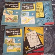 Libros de segunda mano: MIS PRIMEROS DIBUJOS , 7, 8 DOS EDICIONES, 10 Y 12, LUIS MALLOFRÉ. Lote 118097791