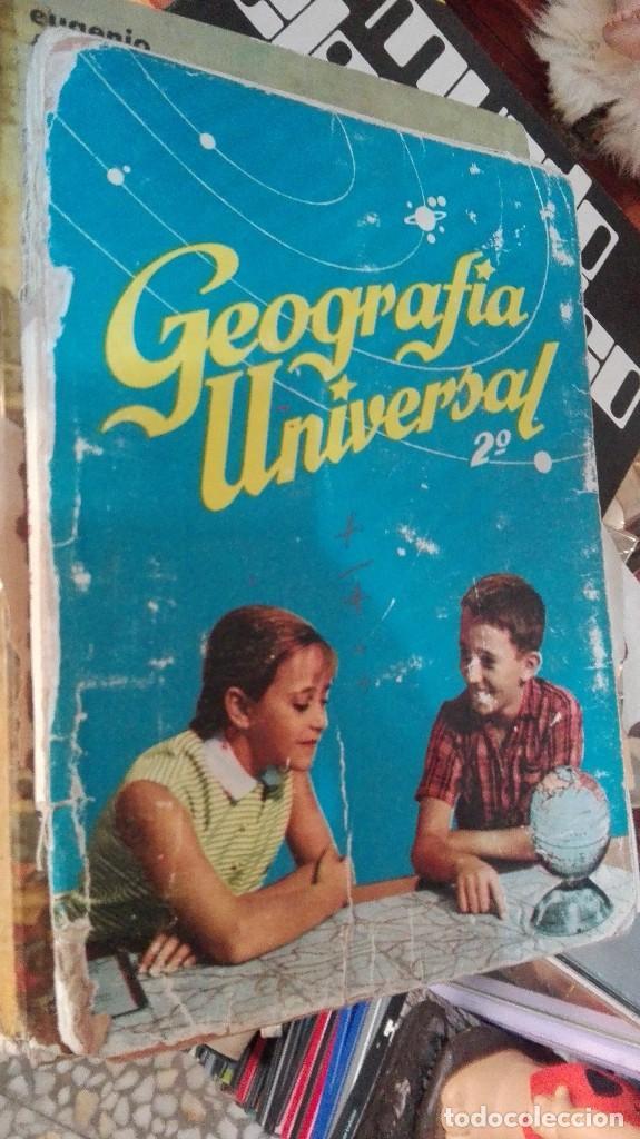 LIBRO DE TEXTO - GEOGRAFÍA UNIVERSAL - 2° CURSO - ANTONIO M. ZUBIA - SM (Libros de Segunda Mano - Libros de Texto )