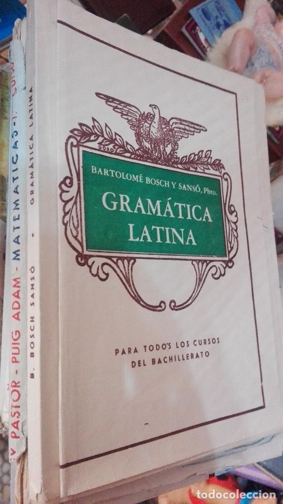 GRAMATICA LATINA. PARA TODOS LOS CURSOS DE BACHILLERATO (Libros de Segunda Mano - Libros de Texto )