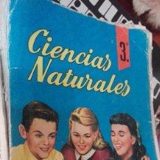 Libros de segunda mano: CIENCIAS NATURALES 3 CURSO BACHILLERATO. EDICIONES SM 1964. Lote 131888795