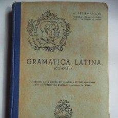 Libros de segunda mano: GRAMATICA LATINA(COMPLETA).. Lote 118643011