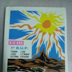 Libros de segunda mano: CIENCIAS NATURALES 1º BUP. EDITORIAL ECIR. Lote 118654143