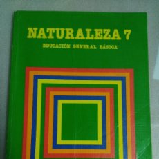 Libros de segunda mano: NATURALEZA - 7 EGB - SANTILLANA. Lote 118657803