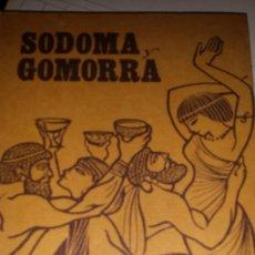 Libros de segunda mano: SODOMA GOMORRA 1964. Lote 118659478